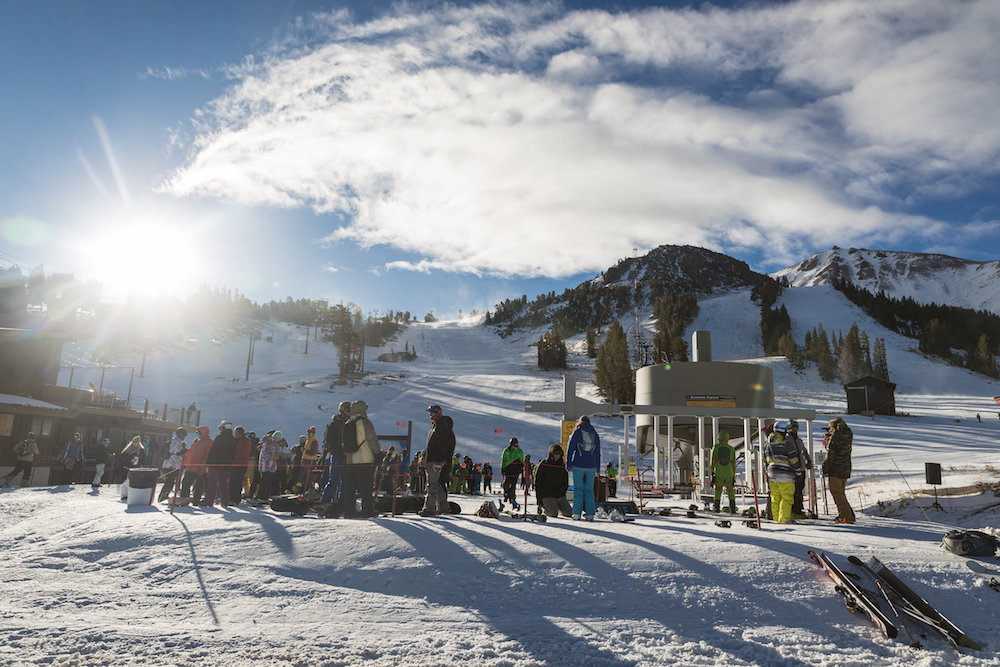 Mammoth opened only 94 days after closing last winter, and it looks like they haven't missed a beat. - © Peter Morning/MMSA