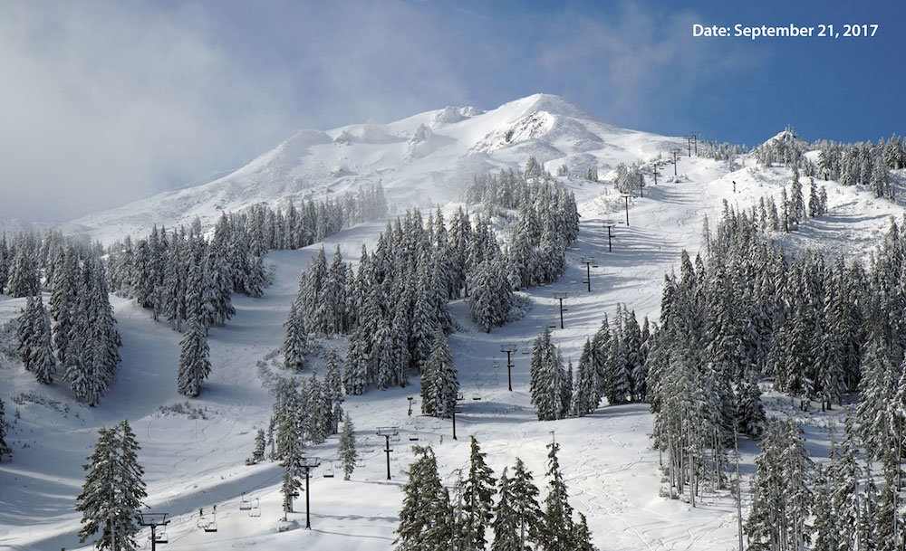 September at Mt. Bachelor . . . seriously? - ©Mt. Bachelor