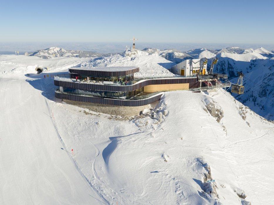 Gipfelstation am Nebelhorn - © Oberstdorf Kleinwalsertal Bergbahnen