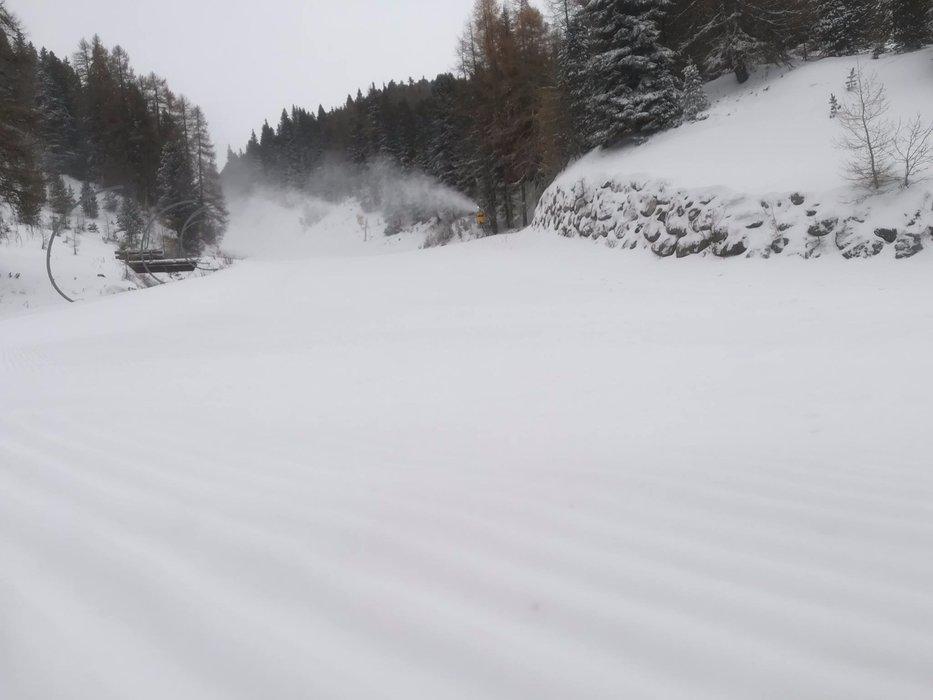 Ski Center Latemar, Obereggen 13.11.17 - © Ski Center Latemar Facebook
