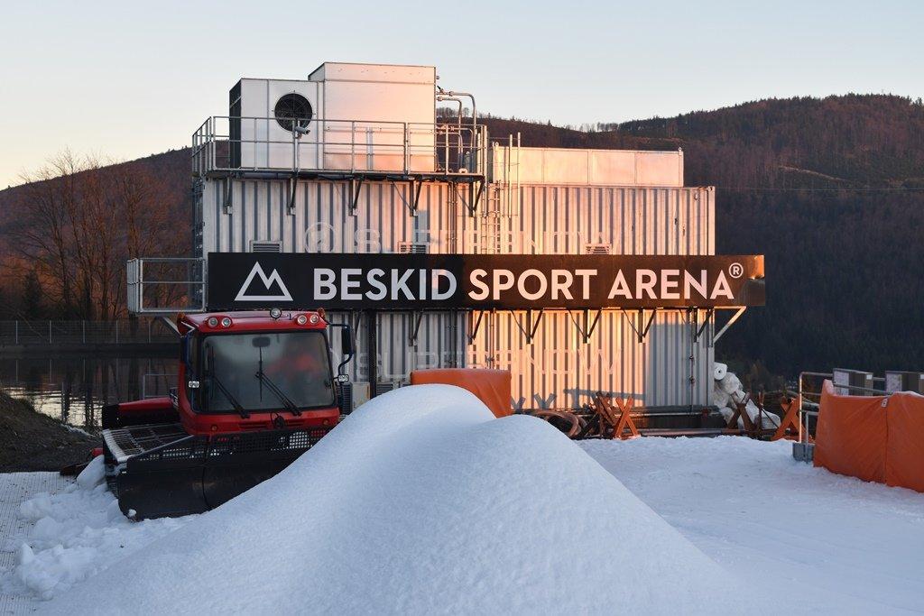 4 listopada 2017 Beskid Sport Arena otworzył sezon zimowy jako pierwszy ośrodek narciarski w Polsce  - © Beskid Sport Arena