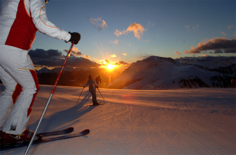 Sonnenskilauf - © Obereggen