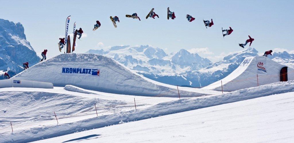 Snowpark v Kronplatz