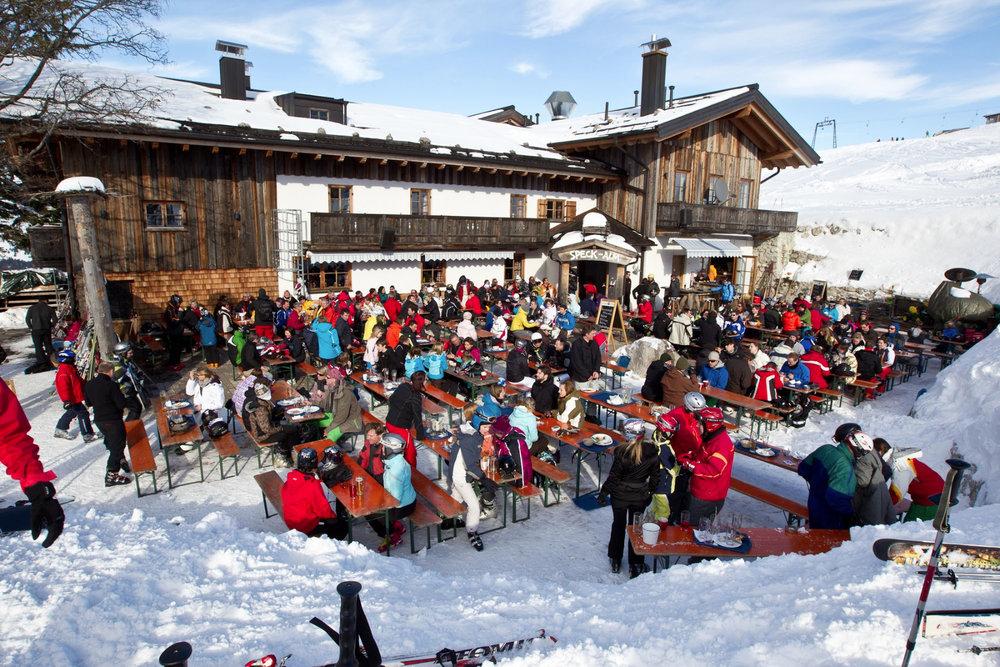 Mittagspause am Sudelfeld - © Bergbahnen Sudelfeld