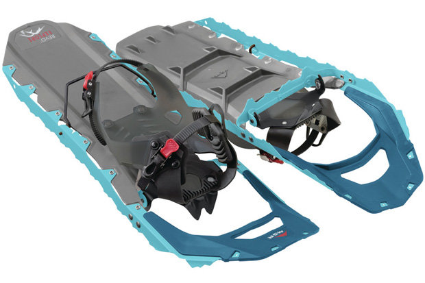 Revo Explore Women's Snowshoes: $220 Tackle your favorite winter trail in style with these lightweight snowshoes from Revo. EVA foam cushions and HyperLink bindings ensure comfortable trekking from dawn till dusk.