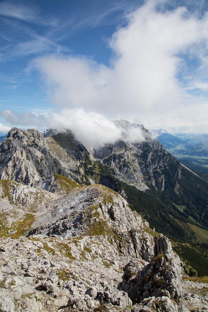 Herbsttour am Wilden Kaiser: Bärnstatt - Scheffauer (2111m) - Hintersteiner See - © Bergleben.de