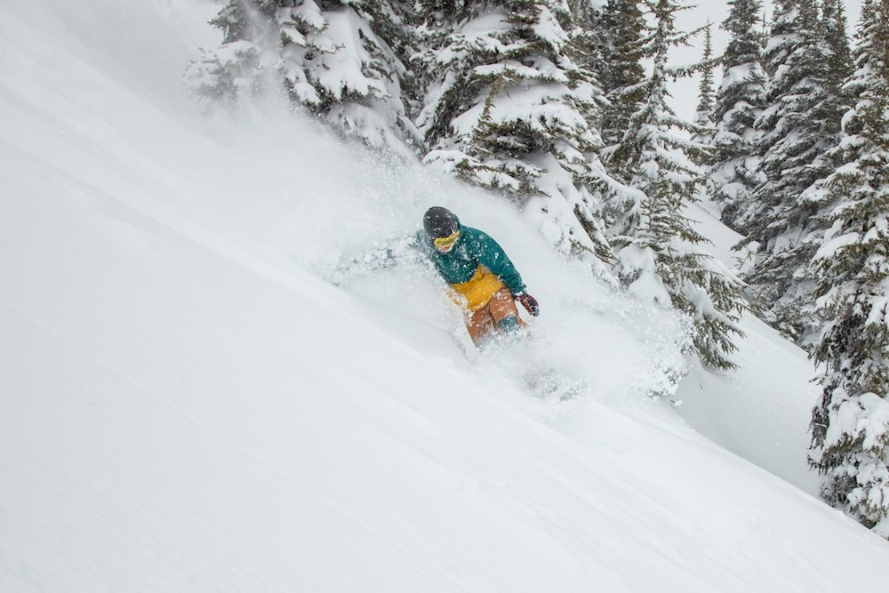 Since when is April this good? Oh yeah, it's Whistler Blackcomb. - ©Mitch Winton/Coast Mountain Photography