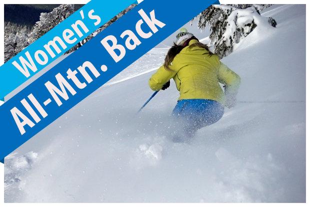 Women's All-Mountain Back ski reviews for 2017/2018. - © Jim Kinney, courtesy of Masterfit Media