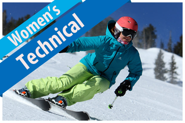 2017/2018 Women's Technical Ski Buyers' Guide. - © Dan Campbell, courtesy of Masterfit Media