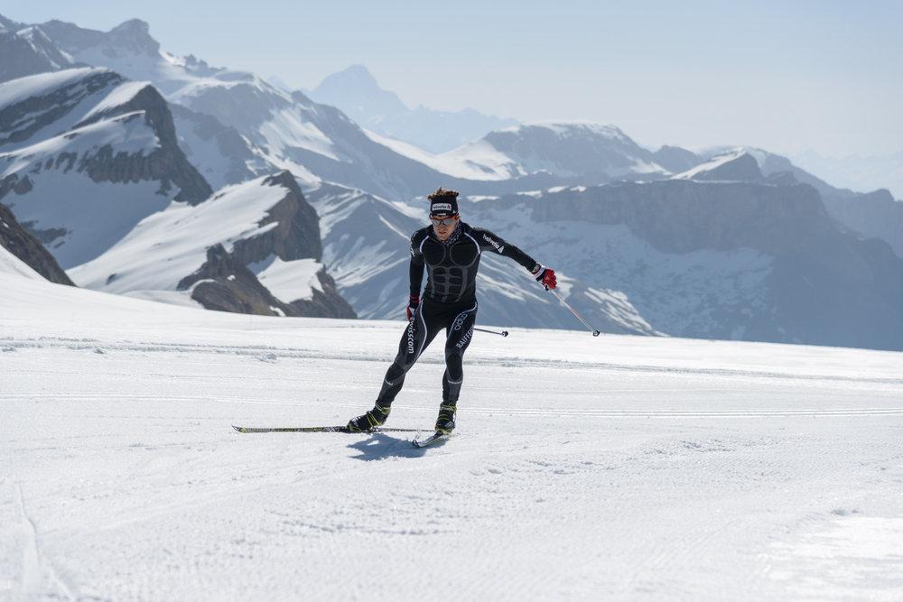 Langlaufen am Glacier 3000 - © Glacier 3000