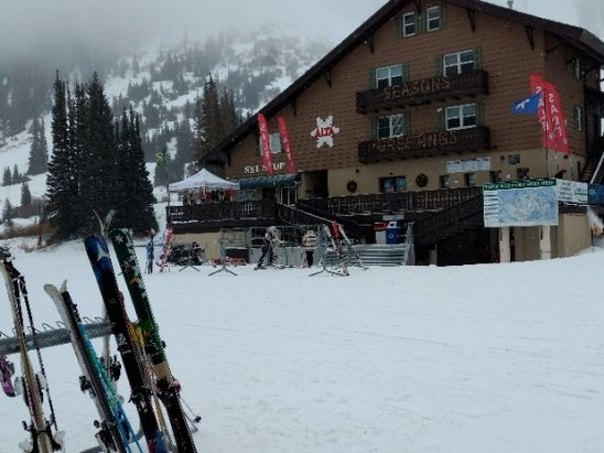 Alta Ski Area - snowing a little today. it's not bad at all. - © anonymous