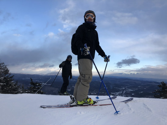 Okemo Mountain Resort - Great Ski day on Saturday! - © adam finkelman's iPhone