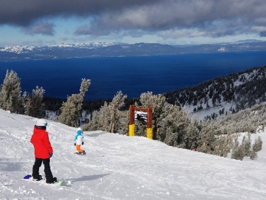 Heavenly Mountain Resort - Decent, close to opening Cali side. - © anonymous