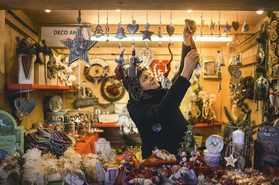I mercatini di Natale in Alta Badia - Corvara, Marcé da Nadé - © Altabadia.org