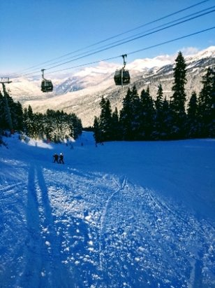 Whistler Blackcomb - no ice anymore, great carving conditions - © anonymous