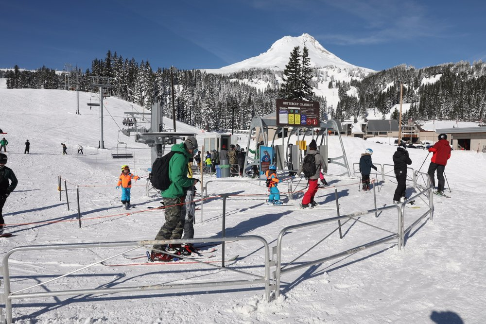 Mt. Hood Meadows base area. - © Mt. Hood Meadows