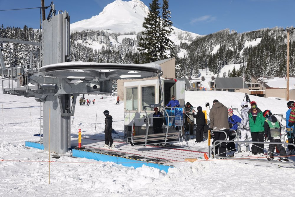 Mt. Hood Meadows lift service. - © Mt. Hood Meadows