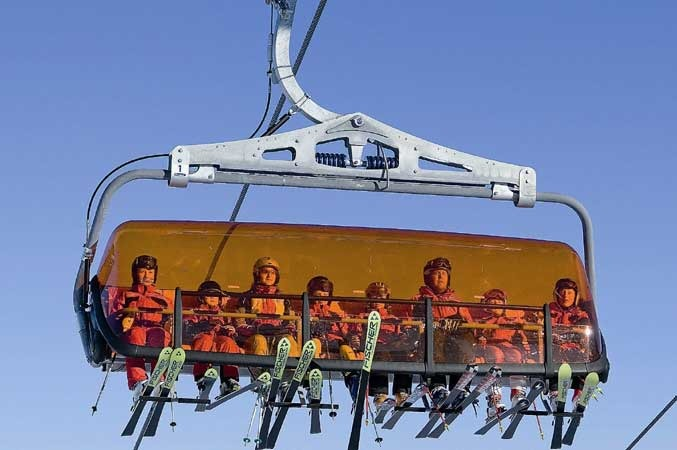 Solden 8 Seater Chairlift