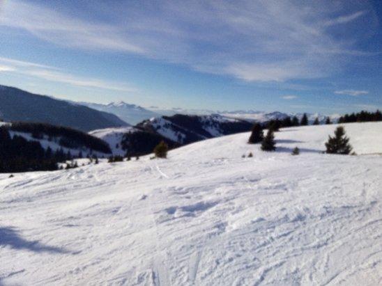 Folgaria - neve fresca, panorama stupendo - © Anonimo