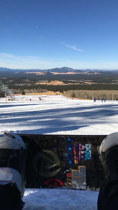 Arizona Snowbowl - Do it. Runs are good. Behind on natural snow, but they are making it worth it!   - © Captain America