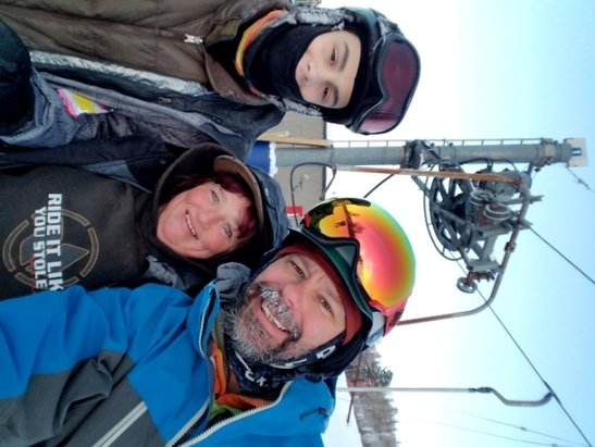 Searchmont Resort - Kim was great, and patient with all the new folks. She kept an eye on my son while he learn to ski. Will definitely be back - © Tim clifft