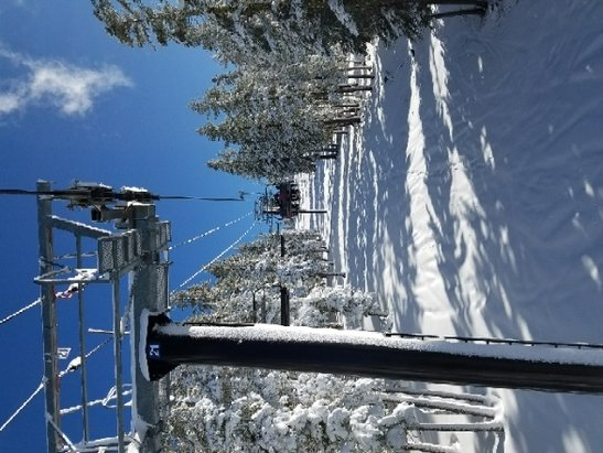 Northstar California - Jan 6th New Snow 