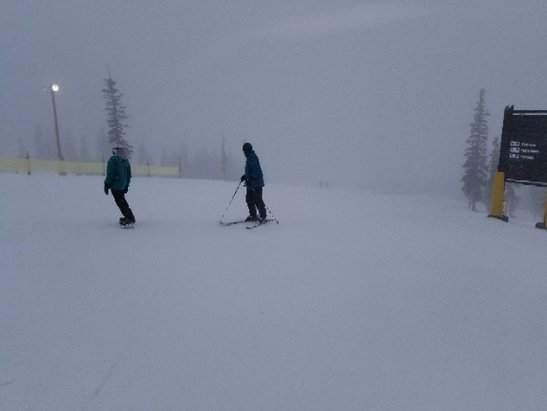 Keystone - snowing  - © anonymous