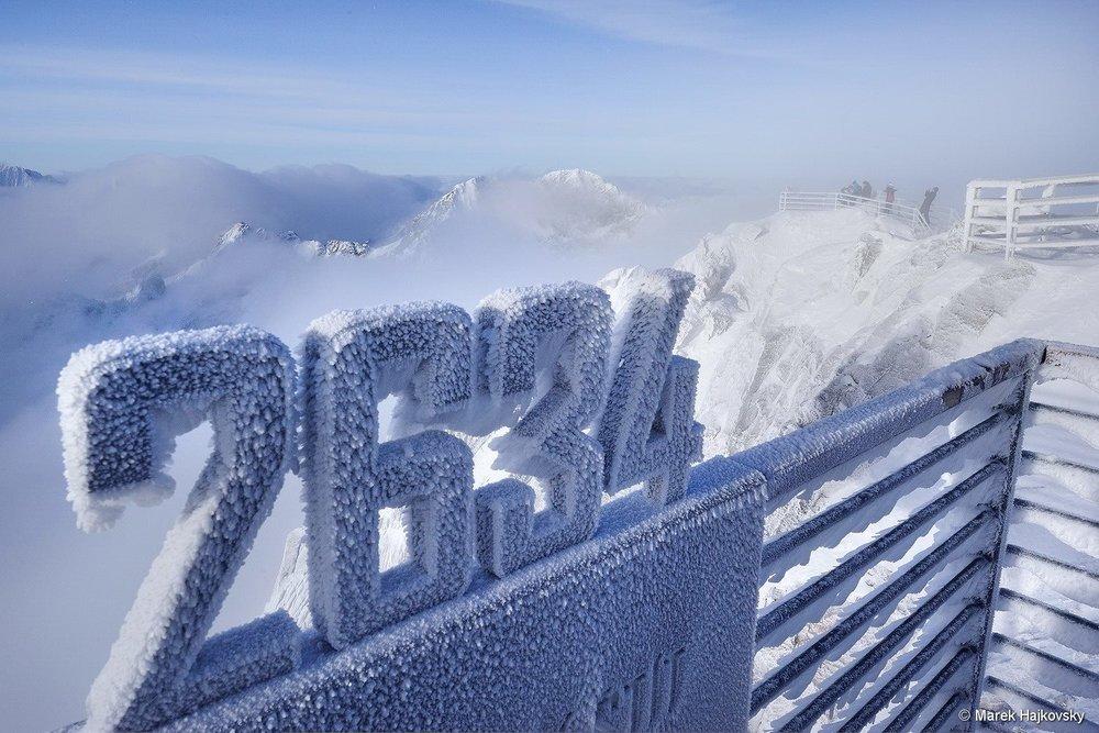 Lomnicky peak, Tatranská Lomnica 11.1.2018 - © www.vt.sk