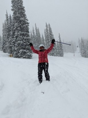 Copper Mountain Resort - Boot deep or better just fell and it's still lightly snowing.  - © anonymous
