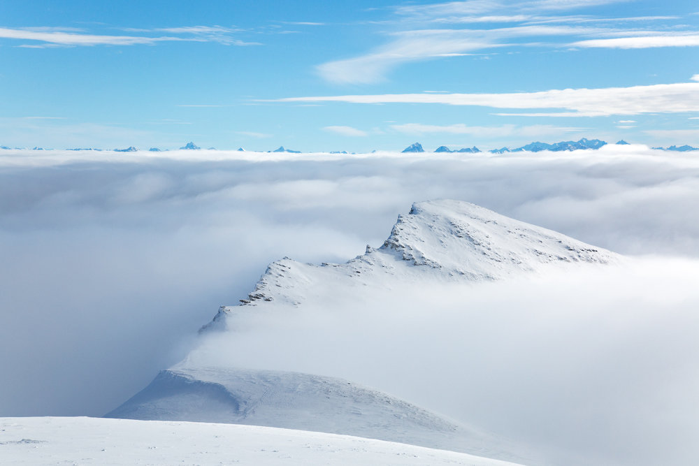 Über den Wolken am La Siala - © Skiinfo