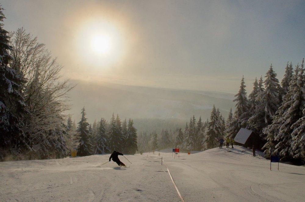Říčky v Orlických horách 14.1.2018 - © facebook Ski Říčky