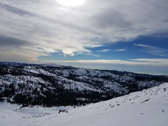 "Kirkwood - ""Happiness is"" view 11/14 - © anonymous"