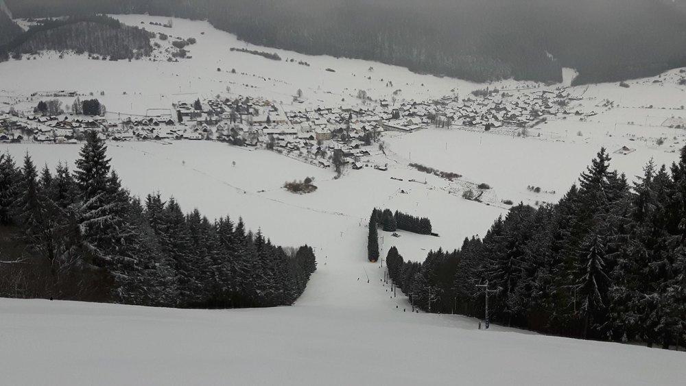 Čičmany, Ski Javorinka 18.1.2018 - © facebook Javorinka Čičmany