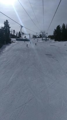 Snow Valley - Nice job on snow making to get the express open!  - © anonymous