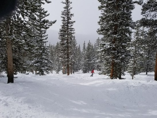 Keystone - Great boarding with recent snow. Short lines and quick lifts made for a great Friday. - © Mark B.