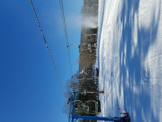 Belleayre - Friday the 26th. quiet day on the
