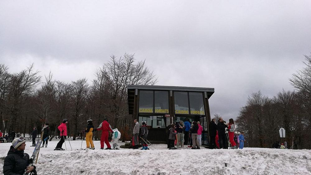 Au départ des pistes de ski de Prat Peyrot - © Station de ski du mont Aigoual, Prat Peyrot