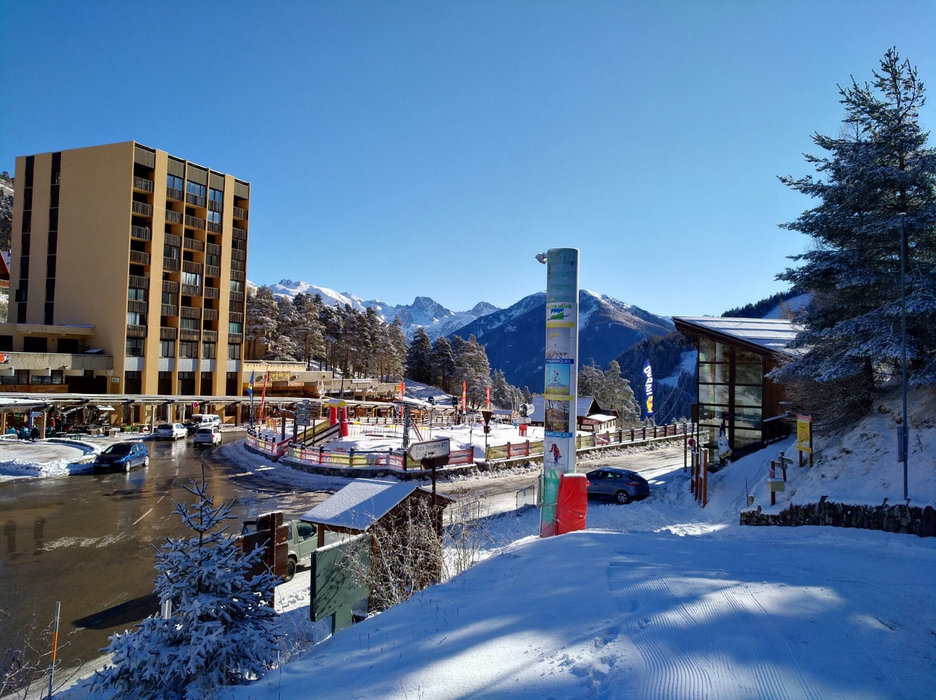 Station de ski de la Colmiane - © Station de ski de la Colmiane