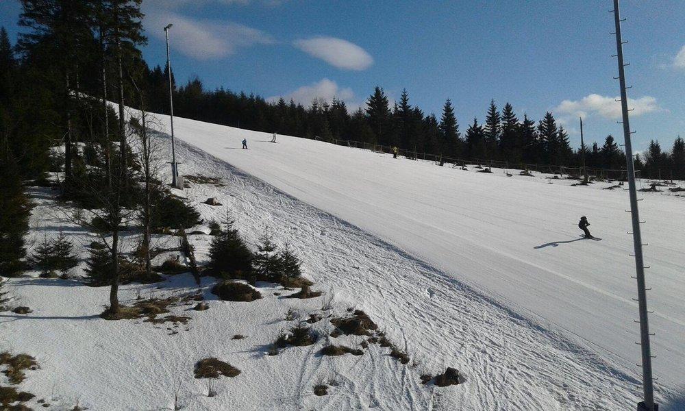 Skiareál Plešivec, 31.1.2018 - © Skiareál Plešivec, facebook