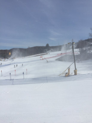 Mountain Creek Resort - Grate Day!!! No ice at all, grate job MTK