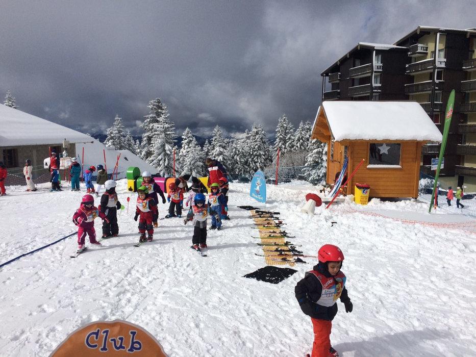 Le Club Piou Piou de Chabanon, l'espace d'apprentissage du ski pour les plus petits... - © ESF Chabanon