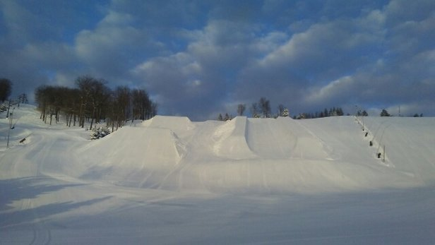 Seven Springs - Nut Bob's Superpipe is open! Saturday was the best conditions in years! - © NorEaster