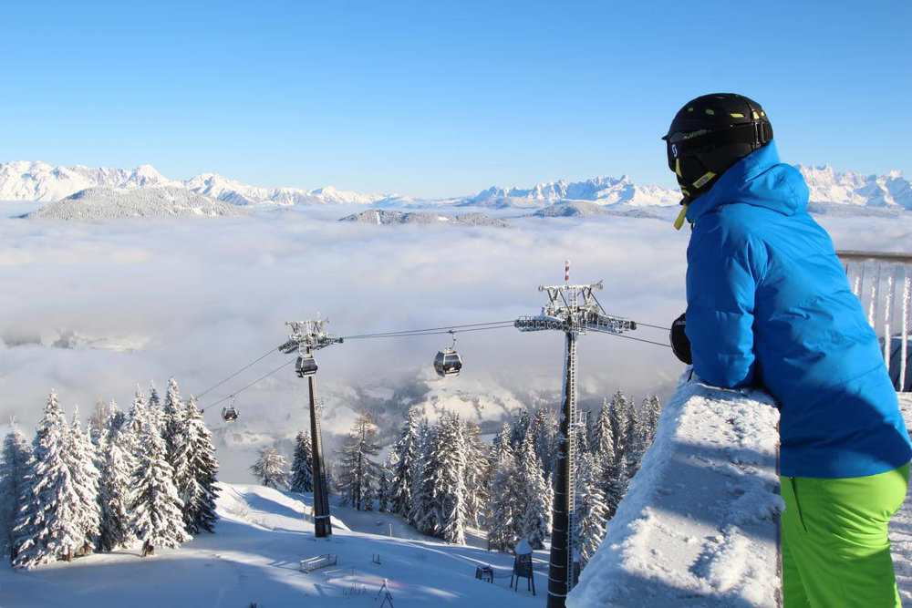Skigebiet Sankt Johann Alpendorf - © Bergbahnen Alpendorf
