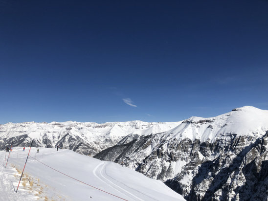 "Telluride - Bluebird day yesterday (Sunday the 11th). 11"" the night before and excellent conditions. Currently dumping out today so will be amazing again. 