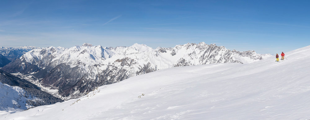 Skifahrer in Stuben - © Tourismusbüro Stuben | Alex Kaiser