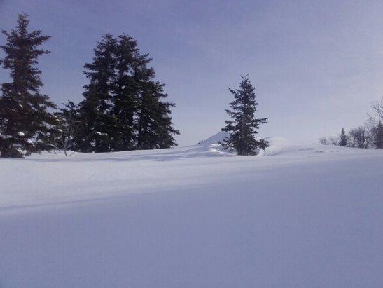 Les Monts d'Olmes - encore de la bonne neige . . - © francisarcens