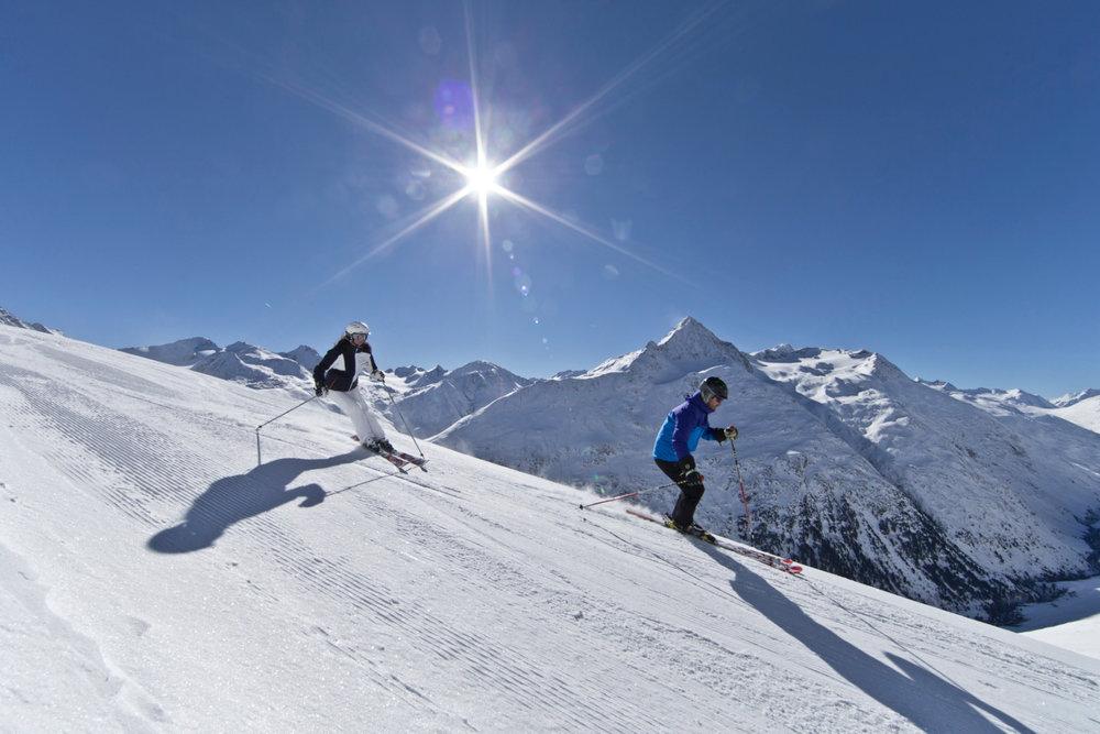 Skifahren in Vent (AUT) - © Ötztal Tourismus