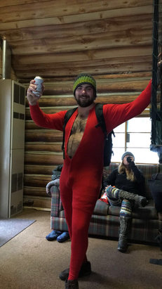 Brundage Mountain Resort - Fun riding with friends and brews!  - © iPhone
