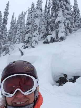 Revelstoke Mountain Resort - The snow and terrain are excellent!  I'm looking forward to going there again today! - © Hayley's 5S