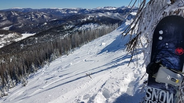Wolf Creek Ski Area -  decent day at wolf after a few days